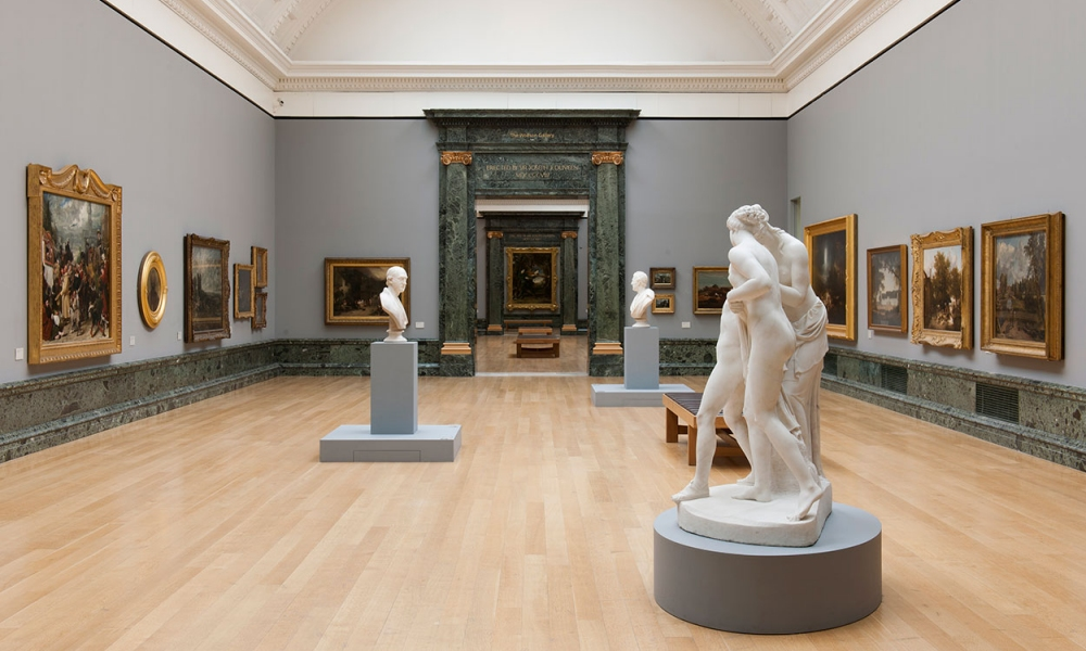 One of the galleries at Tate Britain